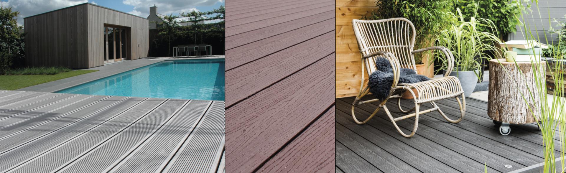 Terrasse En Palette Duree De Vie des lames de terrasse et clôtures en bois composite - duofuse